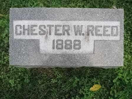REED, CHESTER W. - Vinton County, Ohio | CHESTER W. REED - Ohio Gravestone Photos