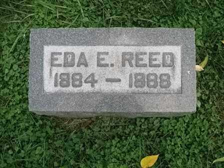 REED, EDA E. - Vinton County, Ohio | EDA E. REED - Ohio Gravestone Photos