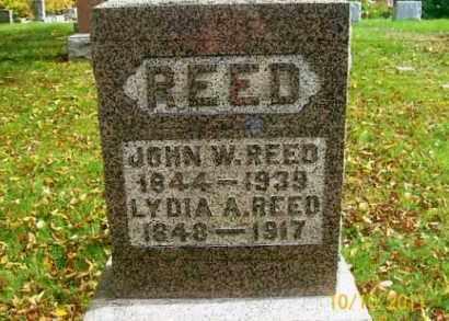 ZINN REED, LYDIA A. - Vinton County, Ohio | LYDIA A. ZINN REED - Ohio Gravestone Photos