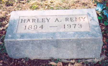 REMY, HARLEY A. - Vinton County, Ohio   HARLEY A. REMY - Ohio Gravestone Photos