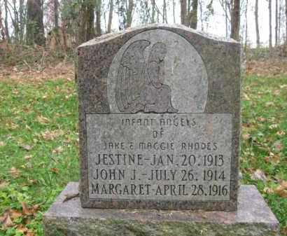 RHODES, JESTINE - Vinton County, Ohio | JESTINE RHODES - Ohio Gravestone Photos