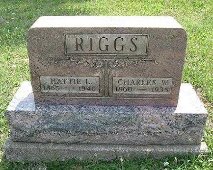 RIGGS, CHARLES W. - Vinton County, Ohio | CHARLES W. RIGGS - Ohio Gravestone Photos