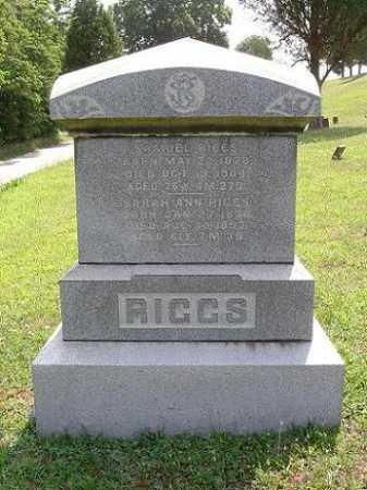 RIGGS, SAMUEL - Vinton County, Ohio | SAMUEL RIGGS - Ohio Gravestone Photos