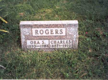 ROGERS, ORA - Vinton County, Ohio   ORA ROGERS - Ohio Gravestone Photos