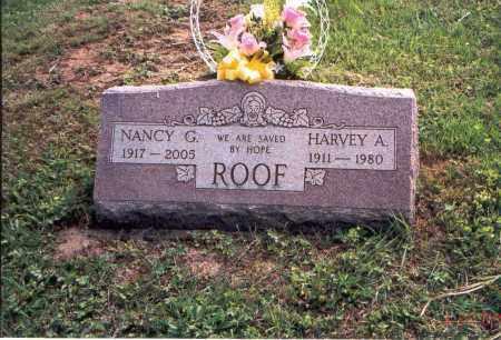ROOF, HARVEY A. - Vinton County, Ohio | HARVEY A. ROOF - Ohio Gravestone Photos