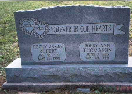RUPERT, BOBBY ANN - Vinton County, Ohio | BOBBY ANN RUPERT - Ohio Gravestone Photos