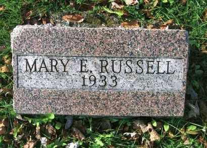 RUSSELL, MARY - Vinton County, Ohio | MARY RUSSELL - Ohio Gravestone Photos