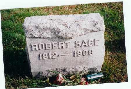 SAGE, ROBERT - Vinton County, Ohio | ROBERT SAGE - Ohio Gravestone Photos