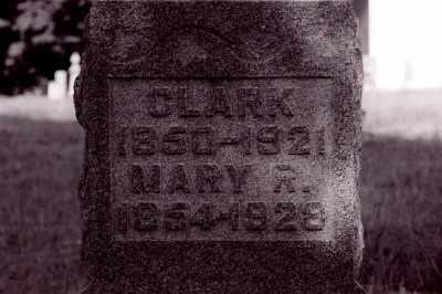 SAMPSON, CLARK - Vinton County, Ohio | CLARK SAMPSON - Ohio Gravestone Photos