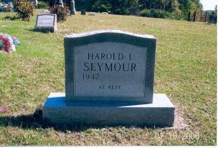 SEYMOUR, HAROLD L. - Vinton County, Ohio   HAROLD L. SEYMOUR - Ohio Gravestone Photos