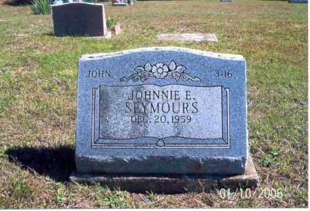 SEYMOURS, JOHNNIE E. - Vinton County, Ohio | JOHNNIE E. SEYMOURS - Ohio Gravestone Photos