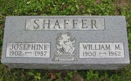 SHAFFER, JOSEPHINE - Vinton County, Ohio | JOSEPHINE SHAFFER - Ohio Gravestone Photos