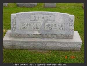 SHARP, SOPHIA - Vinton County, Ohio | SOPHIA SHARP - Ohio Gravestone Photos