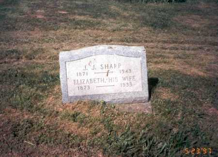 GRAHAM SHARP, ELIZABETH - Vinton County, Ohio   ELIZABETH GRAHAM SHARP - Ohio Gravestone Photos