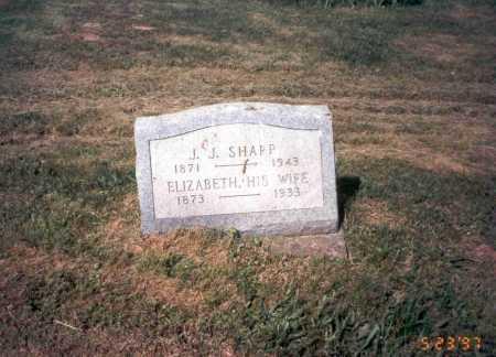 SHARP, ELIZABETH - Vinton County, Ohio | ELIZABETH SHARP - Ohio Gravestone Photos