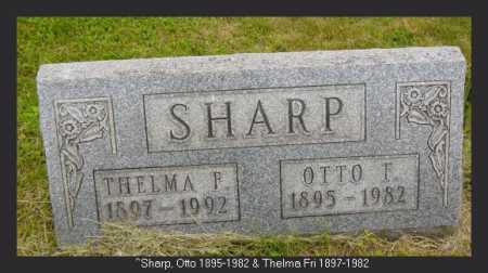 SHARP, OTTO F. - Vinton County, Ohio | OTTO F. SHARP - Ohio Gravestone Photos