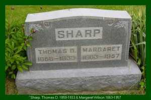 SHARP, MARGARET ARVILDA - Vinton County, Ohio | MARGARET ARVILDA SHARP - Ohio Gravestone Photos