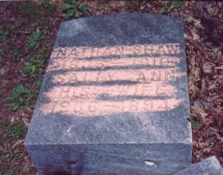 SHAW, SALLY ANN - Vinton County, Ohio | SALLY ANN SHAW - Ohio Gravestone Photos