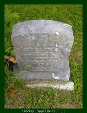 SHOCKEY, EVELYN CLAIRE - Vinton County, Ohio | EVELYN CLAIRE SHOCKEY - Ohio Gravestone Photos