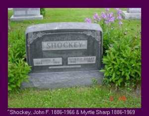 SHOCKEY, JOHN F. - Vinton County, Ohio | JOHN F. SHOCKEY - Ohio Gravestone Photos