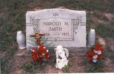 SMITH, HAROLD M. - Vinton County, Ohio   HAROLD M. SMITH - Ohio Gravestone Photos