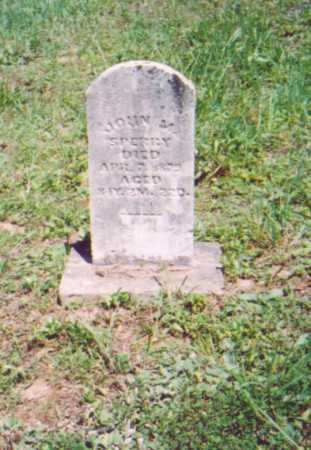 SPERRY,, JOHN M. - Vinton County, Ohio   JOHN M. SPERRY, - Ohio Gravestone Photos