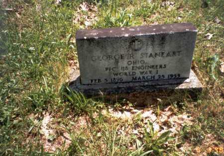 STANEART, GEORGE R. - Vinton County, Ohio | GEORGE R. STANEART - Ohio Gravestone Photos