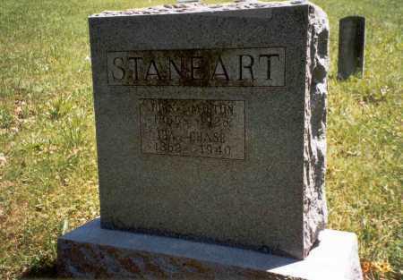 STANEART, MILTON - Vinton County, Ohio | MILTON STANEART - Ohio Gravestone Photos
