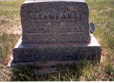 STANEART, FLOSSIE - Vinton County, Ohio   FLOSSIE STANEART - Ohio Gravestone Photos