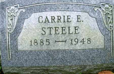 STEELE, CARRIE ELIZABETH - Vinton County, Ohio | CARRIE ELIZABETH STEELE - Ohio Gravestone Photos