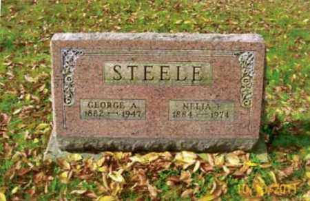 STEELE, GEORGE ALBERT - Vinton County, Ohio | GEORGE ALBERT STEELE - Ohio Gravestone Photos