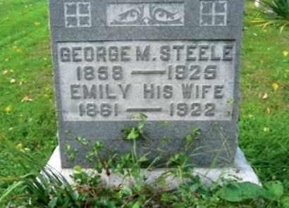 TENNIHILL STEELE, EMILY - Vinton County, Ohio   EMILY TENNIHILL STEELE - Ohio Gravestone Photos
