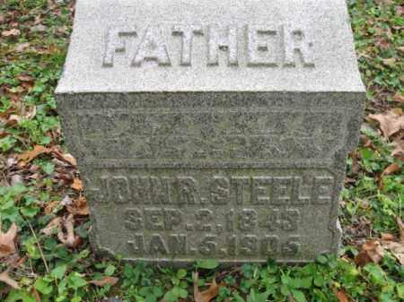 STEELE, JOHN R. - Vinton County, Ohio   JOHN R. STEELE - Ohio Gravestone Photos