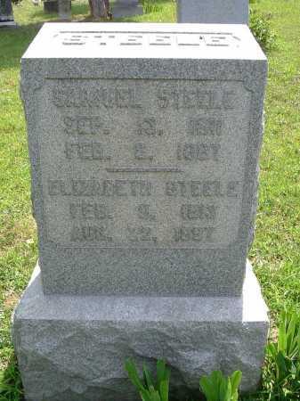 STEELE, ELIZABETH - Vinton County, Ohio   ELIZABETH STEELE - Ohio Gravestone Photos
