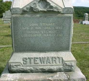 STEWART, RACHEL - Vinton County, Ohio | RACHEL STEWART - Ohio Gravestone Photos
