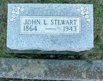 STEWART, JOHN L. - Vinton County, Ohio | JOHN L. STEWART - Ohio Gravestone Photos