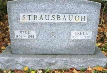 STRAUSBAUGH, VERN - Vinton County, Ohio | VERN STRAUSBAUGH - Ohio Gravestone Photos
