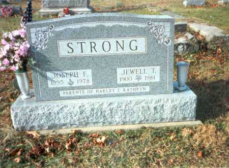 STRONG, JEWELL T. - Vinton County, Ohio | JEWELL T. STRONG - Ohio Gravestone Photos