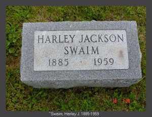 SWAIM, HARLEY JACKSON - Vinton County, Ohio | HARLEY JACKSON SWAIM - Ohio Gravestone Photos