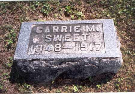 SWEET, CARRIE M. - Vinton County, Ohio   CARRIE M. SWEET - Ohio Gravestone Photos