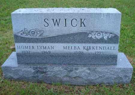SWICK, MELBA - Vinton County, Ohio | MELBA SWICK - Ohio Gravestone Photos