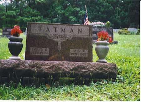TATMAN, GLEN WOOD - Vinton County, Ohio | GLEN WOOD TATMAN - Ohio Gravestone Photos
