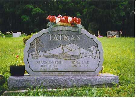 THURSTON TATMAN, EDNA MAE - Vinton County, Ohio | EDNA MAE THURSTON TATMAN - Ohio Gravestone Photos