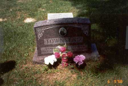TOWNSEND, LUCINDA - Vinton County, Ohio | LUCINDA TOWNSEND - Ohio Gravestone Photos