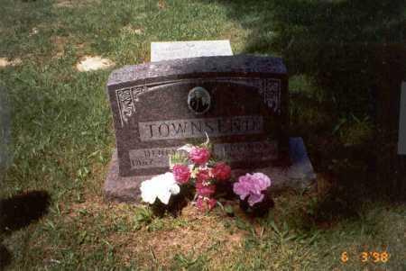 TOWNSEND, LUCINDA - Vinton County, Ohio | LUCINDA TOWNSEND - Ohio Gravestone Photos