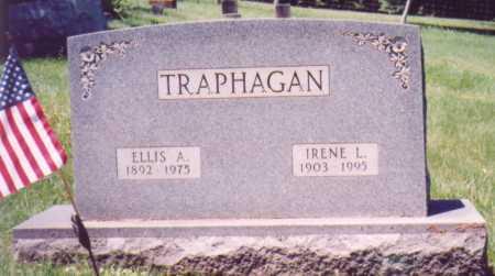 TRAPHAGAN, ELLIS A. - Vinton County, Ohio | ELLIS A. TRAPHAGAN - Ohio Gravestone Photos