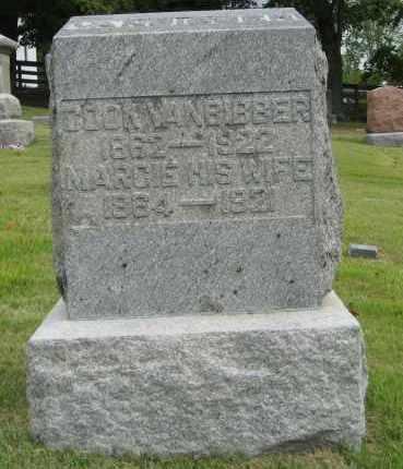 VANBIBBER, COOK - Vinton County, Ohio | COOK VANBIBBER - Ohio Gravestone Photos