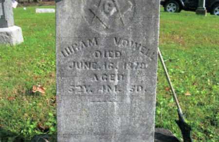 VOWELL, HIRAM - Vinton County, Ohio   HIRAM VOWELL - Ohio Gravestone Photos