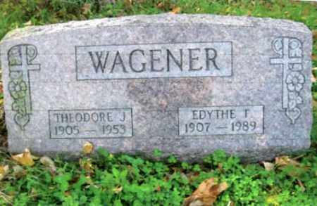WAGENER, THEODORE J. - Vinton County, Ohio | THEODORE J. WAGENER - Ohio Gravestone Photos