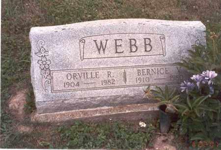 WEBB, ORVILLE R. - Vinton County, Ohio | ORVILLE R. WEBB - Ohio Gravestone Photos
